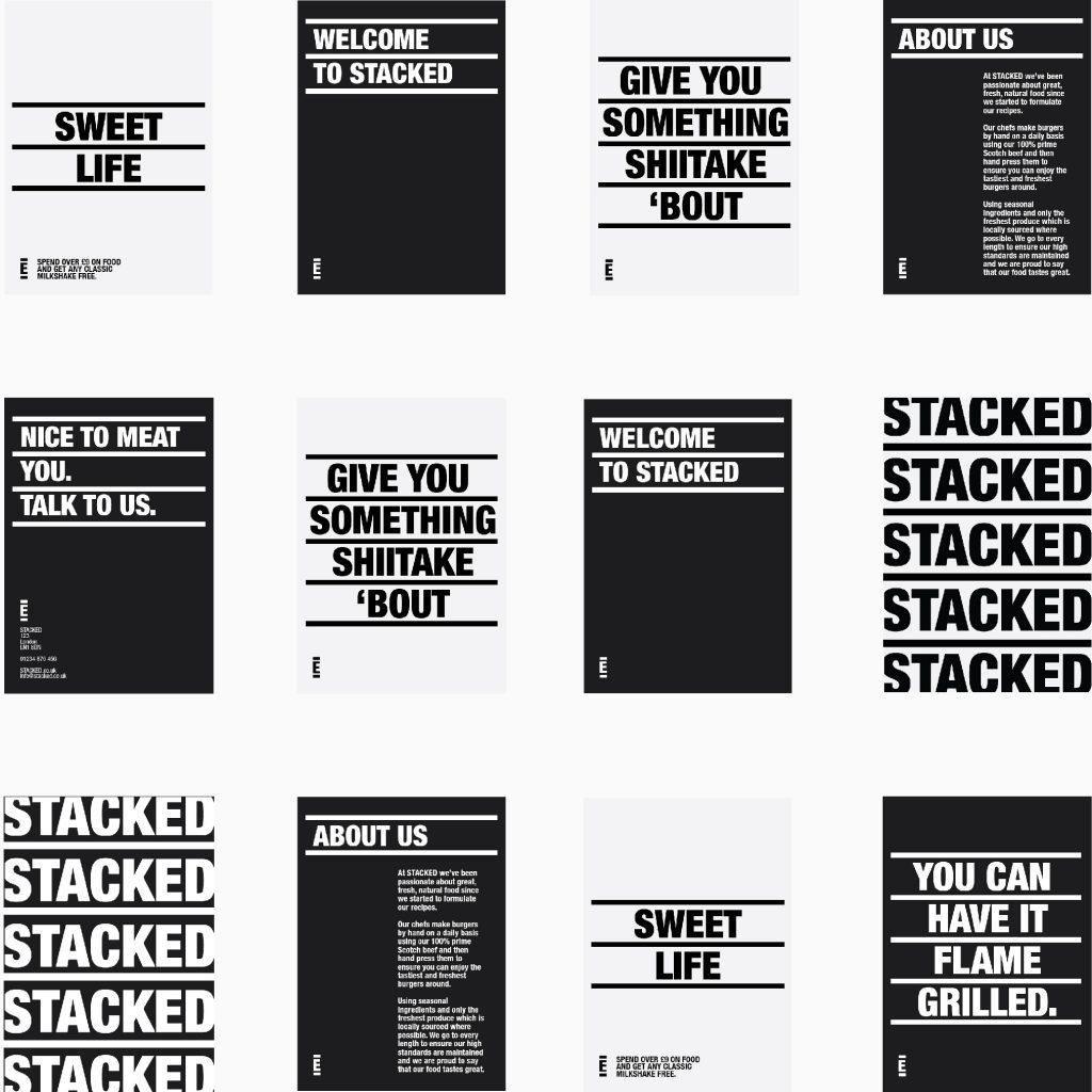 Manraj Ubhi - Stacked Posters
