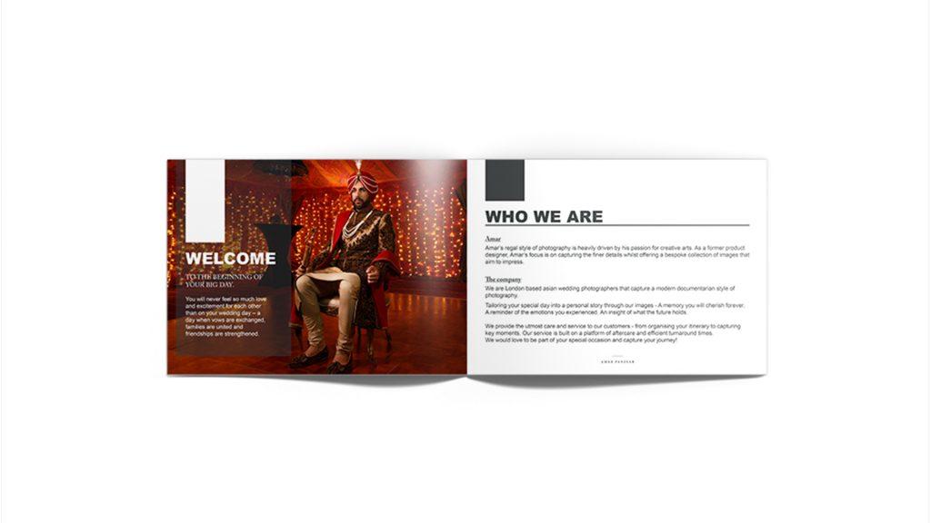 Manraj Ubhi - Amar Panesar Brochure design
