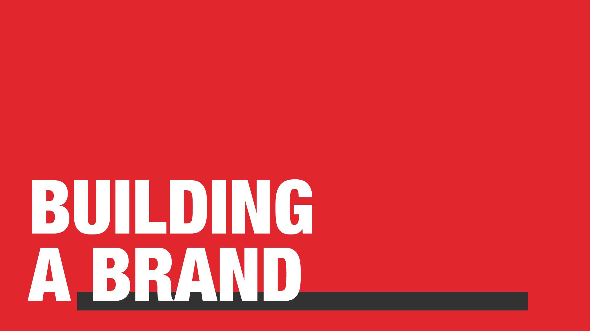 Manraj Ubhi - Building a brand