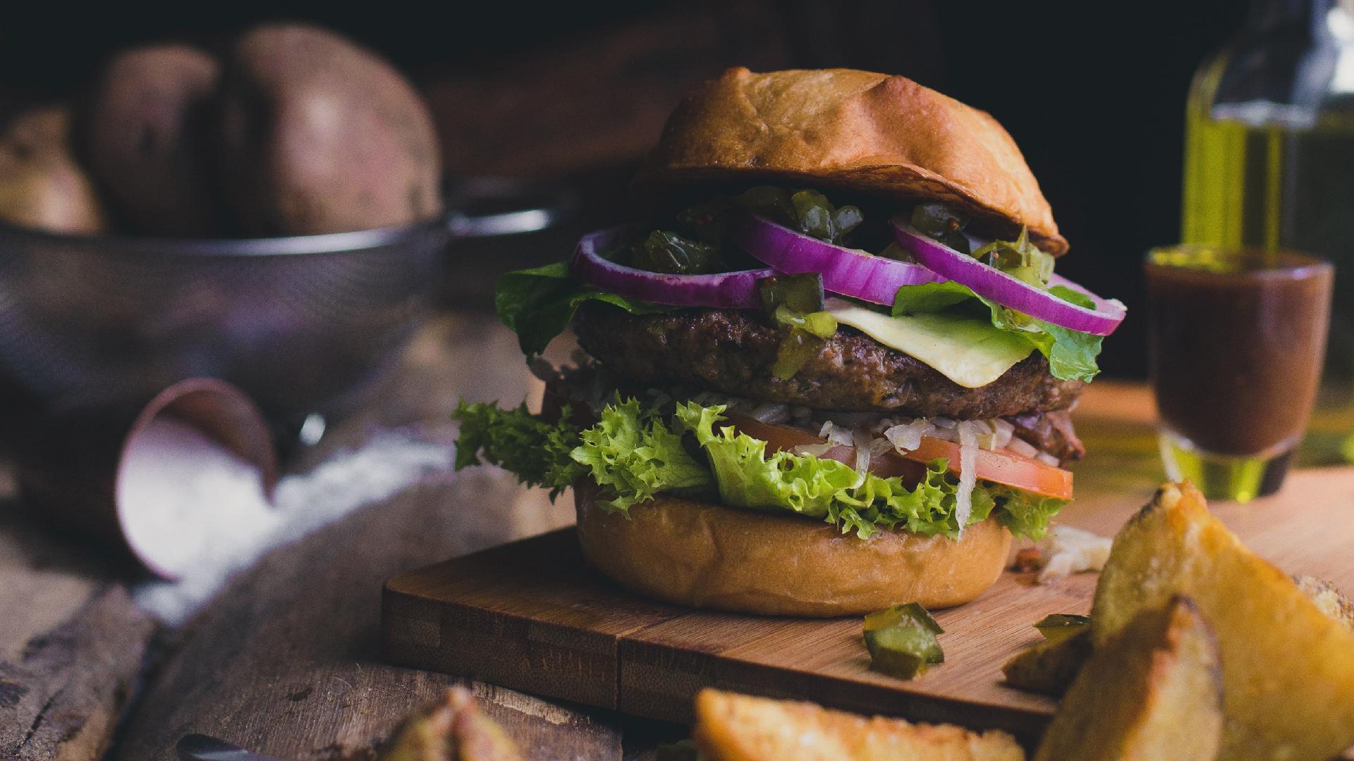 Manraj Ubhi - Stacked Burger