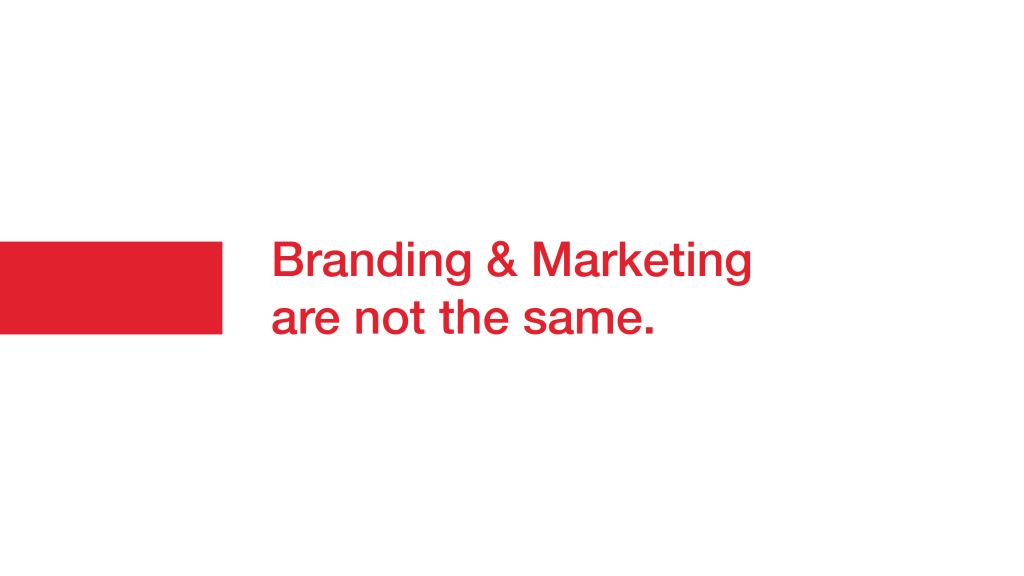 Branding and Marketing are not the same - Manraj Ubhi