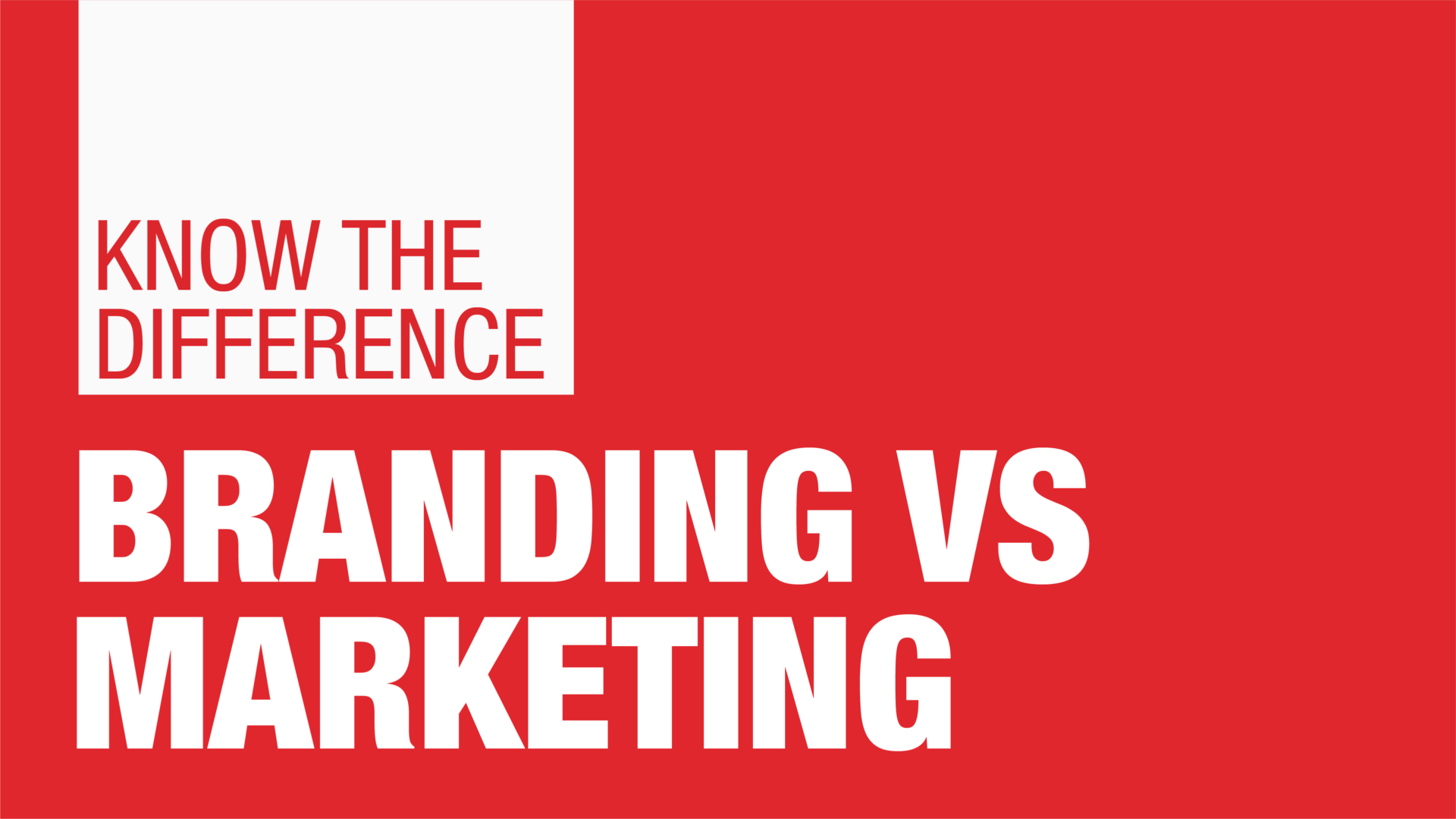 Know the difference between Branding vs Marketing - Manraj Ubhi