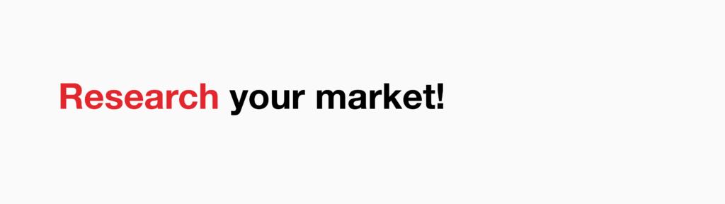 Research your market- Naming your business - Manraj Ubhi