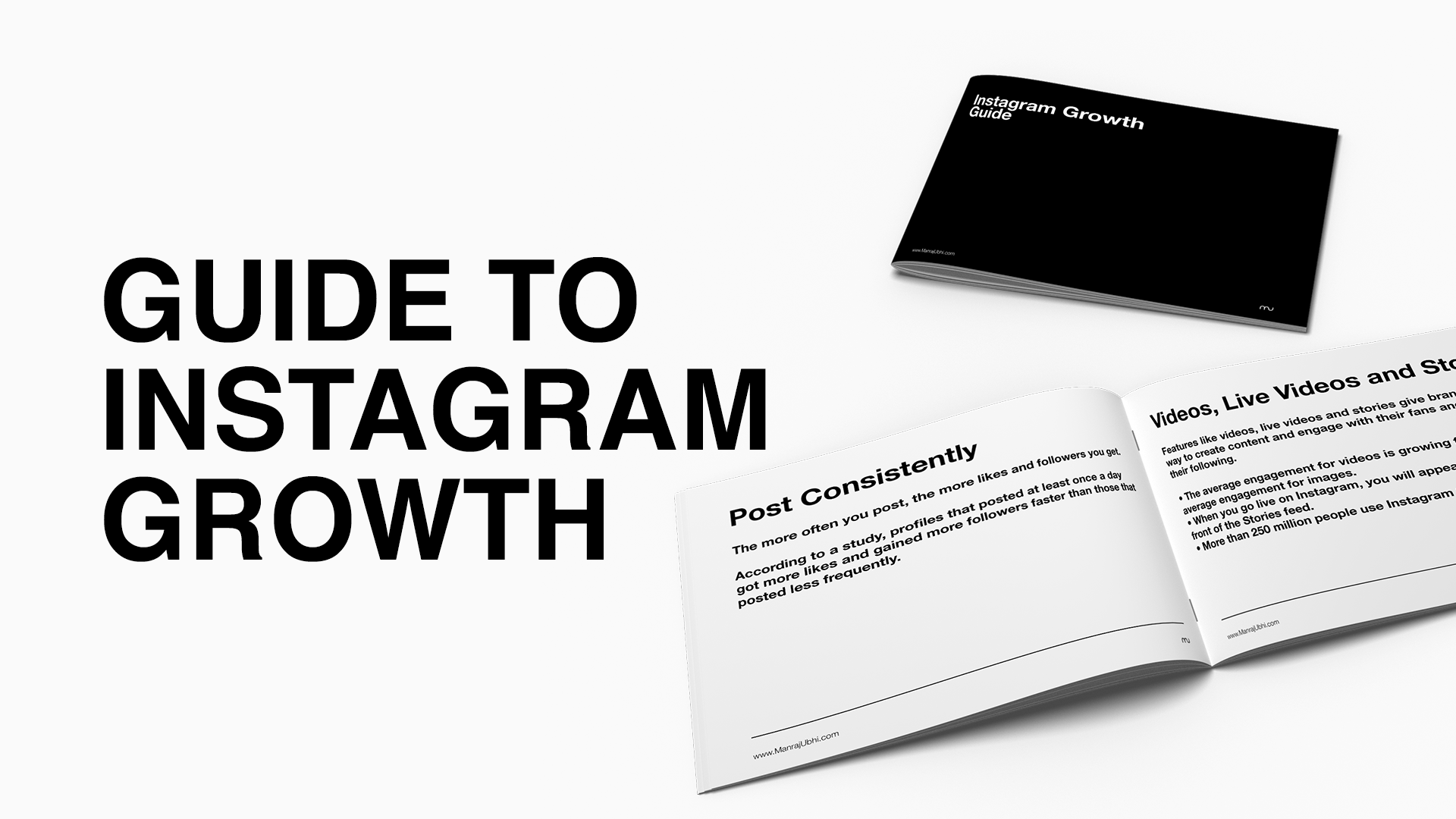 Guide To Instagram Growth - Manraj ubhi