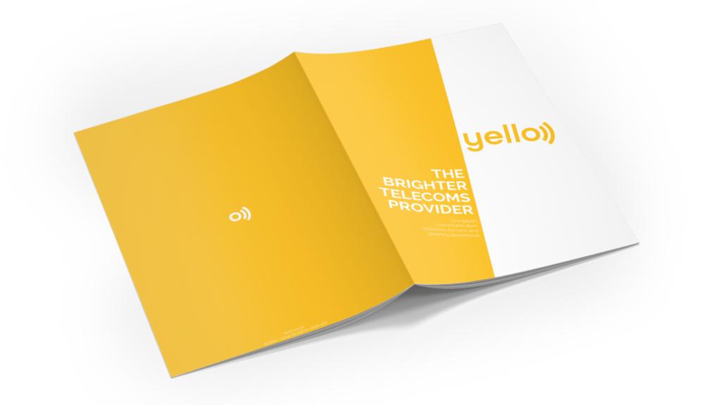 yello telecommunications - brochure - manraj ubhi