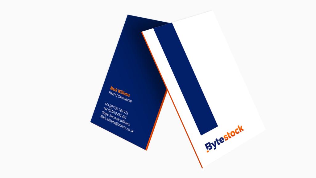 Bytestock Business Cards - Manraj Ubhi