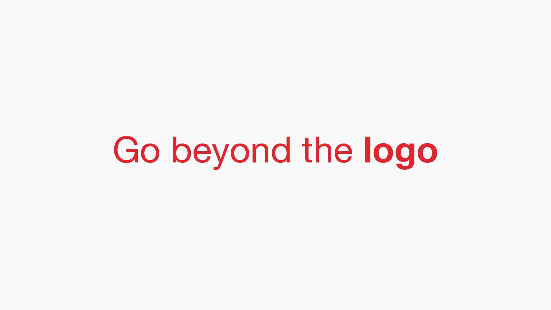 Go beyond the logo - Manraj Ubhi