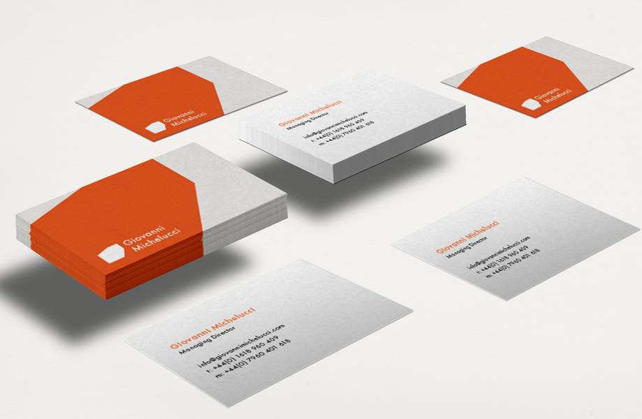 Giovanni Michelucci Business Cards